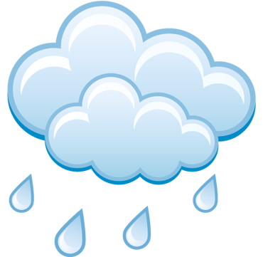 Light rain starting in the afternoon, continuing until evening.